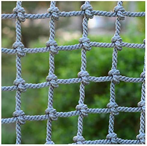 Nylon Rope Fence Net for Garden Patios Playgrounds 3x3ft Indoor Outdoor Safety Net Size : 1x1m Child Pets Protection Net Decorative Mesh Balcony Stair Protective Netting