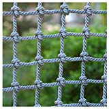 Child Safety Net,Kids Balcony Net Protection Fence Decor Climbing Woven Rope Truck Cargo Trailer Netting Net Mesh Nets,for Cats Outdoor Patios Railings Stairs Playground Children Indoor Ceiling,4'