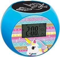 Lexibook Unicorn Reloj despertador proyector, efectos de sonido ...