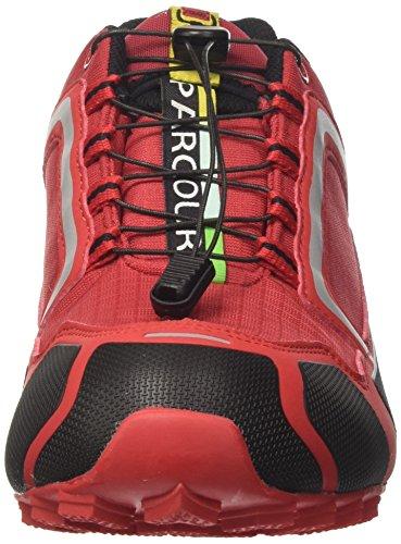 DOGGO Parcours, Zapatillas de Cross Unisex Adulto rojo (rojo)