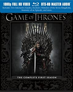 Cover Image for 'Game of Thrones: The Complete First Season'
