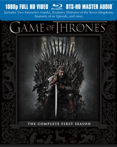 DVD : Game of Thrones: The Complete First Season [Blu-ray]