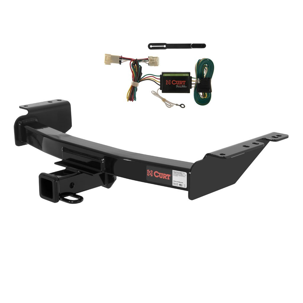Curt 13344-55355 Trailer Hitch and Wiring Package Curt Manufacturing