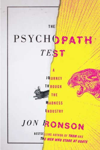 Pdf Biographies The Psychopath Test: A Journey Through the Madness Industry