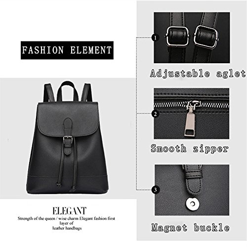 G-AVERIL GA1086-G - Bolso mochila  para mujer gris gris Red