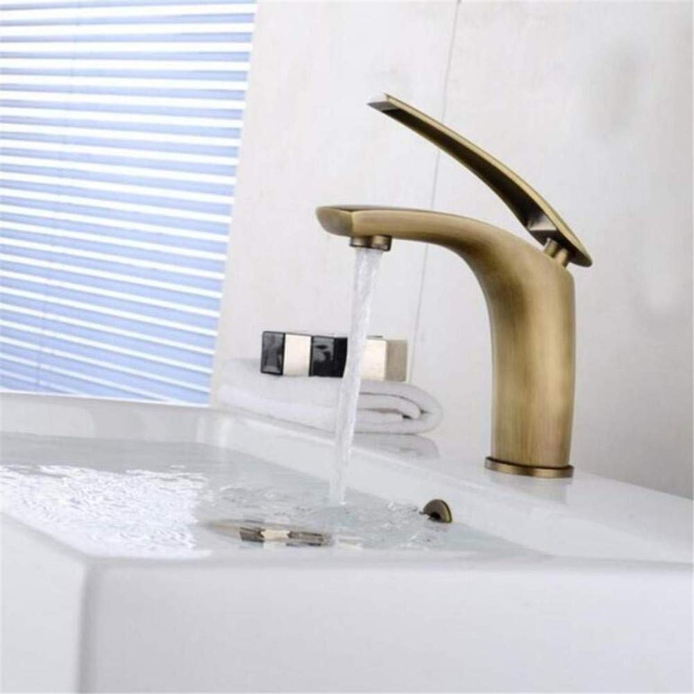 Brass Chrome Hot and Cold Water Faucet Washbasin Mixerwholesale Painted Basin Faucets Hot&Cold Mixer Bathroom Basin Tap Brass