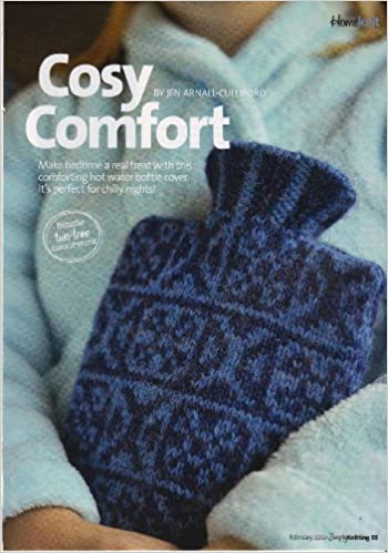 Cosy Comfort Hot Water Bottle Cover Knitting Pattern Measurements