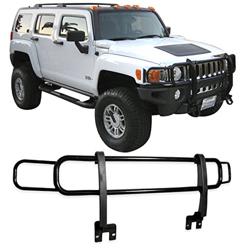 03-09 HUMMER H2 H2T SUT SUV CHROME POLISHED BRUSH GRILLE FRONT GUARD (Hummer Grille compare prices)