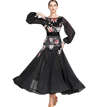 31861fce587 Costumes de Danse Moderne pour Les Femmes Jupe Performance Manchon de Cour  rétro Vêtements de Danse