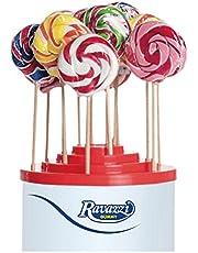 Lecca Lecca Rainbow Arcobaleno. Confezione da 50pz x 25gr Ravazzi Gummy. Ideale per Feste di Compleanno e Caramellate.