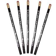 5 Pencils-Flute-Black & Silver