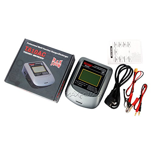HHZ T610AC Professional Multi Funtion Nicd Nimh Lipo li-on LiFe battery Charge Discharge Charger Max 100W(US Plug) by HHZ (Image #3)