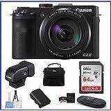 Canon PowerShot G3 X Digital Camera (64GB + Viewfinder Bundle)
