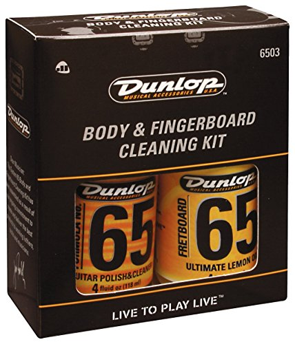 Dunlop 6503 Body & Fingerboard Cleaning Kit (Bass Oil Guitar)