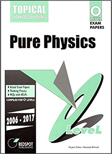 GCE O Level Pure Physics Topical By Redspot Publishing