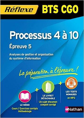 Processus 4 à 10 - BTS CGO