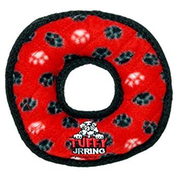 Tuffy Jr Ring Red Paw