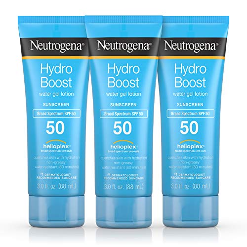 Neutrogena Hydro Boost Moisturizing & Hydrating 100% Hydrogel Face Mask Sheet with Hyaluronic Acid, 1 oz (Pack of 3)