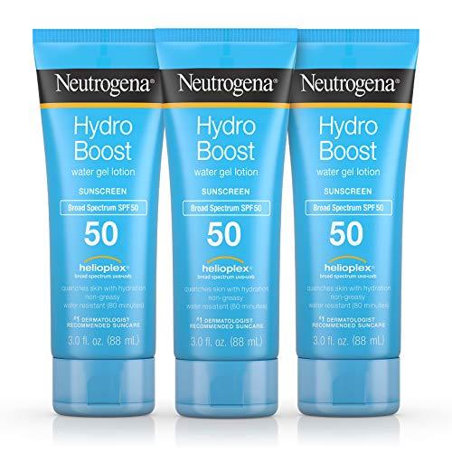 Neutrogena Hydro Boost Moisturizing & Hydrating 100% Hydrogel Face Mask Sheet with Hyaluronic Acid, 1 oz (Pack of 3)