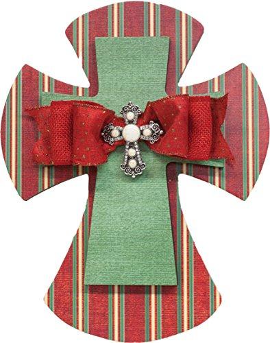 The Faith Collection Christmas Cross, 14'' by Faith Collection