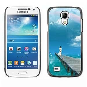 "For Samsung Galaxy S4 Mini (NOT for regular S4) , S-type Naturaleza Hermosa Forrest Verde 5"" - Arte & diseño plástico duro Fundas Cover Cubre Hard Case Cover"