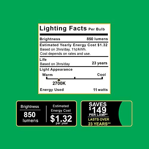 Sunco Lighting 10 Pack BR30 LED Bulb 11W=65W, 2700K Soft White, 850 LM, E26 Base, Dimmable, Indoor Flood Light for Cans - UL & Energy Star