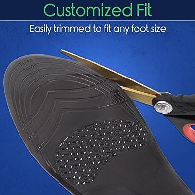 Amazon.com: ViveSole Gel Sole Replacements - Soft Heel ...