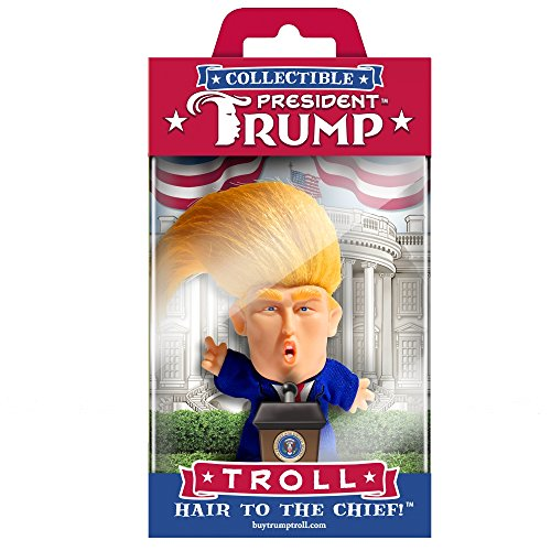 Large Product Image of Collectible President Donald Trump Troll Doll - Hair to the Chief