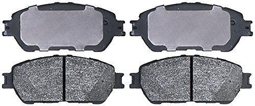 ACDelco 14D906ACHF1 Advantage Ceramic Front Disc Brake Pads: