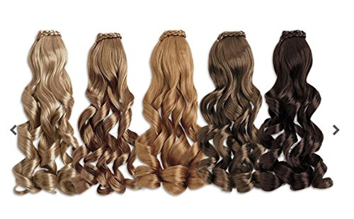 Price comparison product image American Girl Doll Hair Extension or Ponytail (BLONDE) - Hair Accessory / DOLL IS NOT INCLUDED / Doll is sold separately