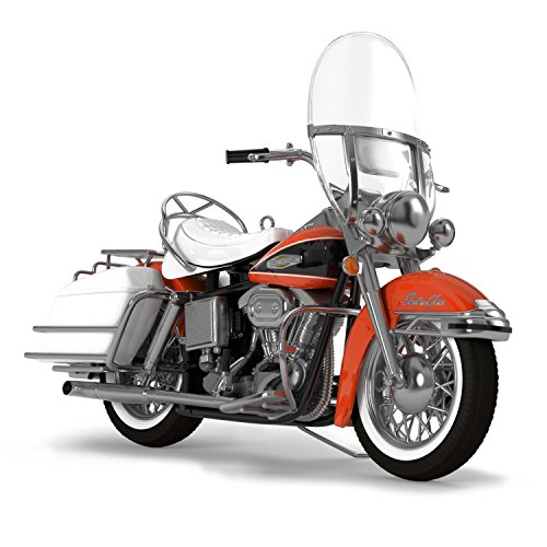 Hallmark Keepsake 2017 Harley-Davidson 1968 FLH Electra Glide Dated Christmas Ornament