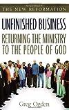 Unfinished Business, Greg Ogden, 0310246199