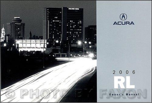 2006-acura-rl-owners-manual-original