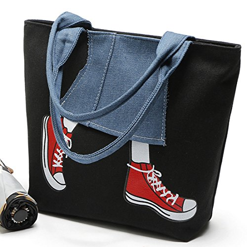 Shoulder Bag Oversized Canvas Shoulder Bag Bag Hobo Women Large for Travel Rose Tote Red Bag Shopping Rq5qdwxrE