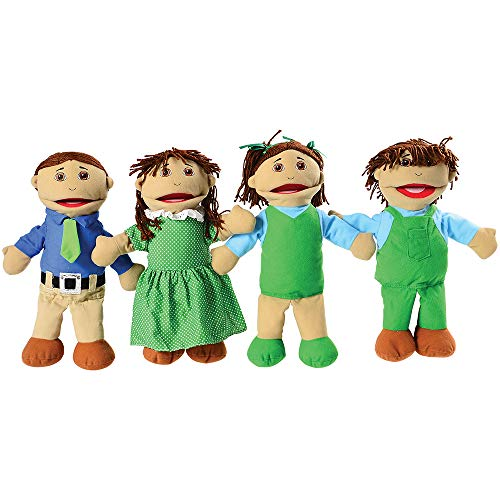 Creative Minds Latino 4 pc. Full-Bodied Family Puppet Set - Full Bodied Puppet