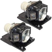 FI Lamps Hitachi CPX2015WNLAMP Premium Powerwarehouse Replacement Lamp (Qty: 2pcs)