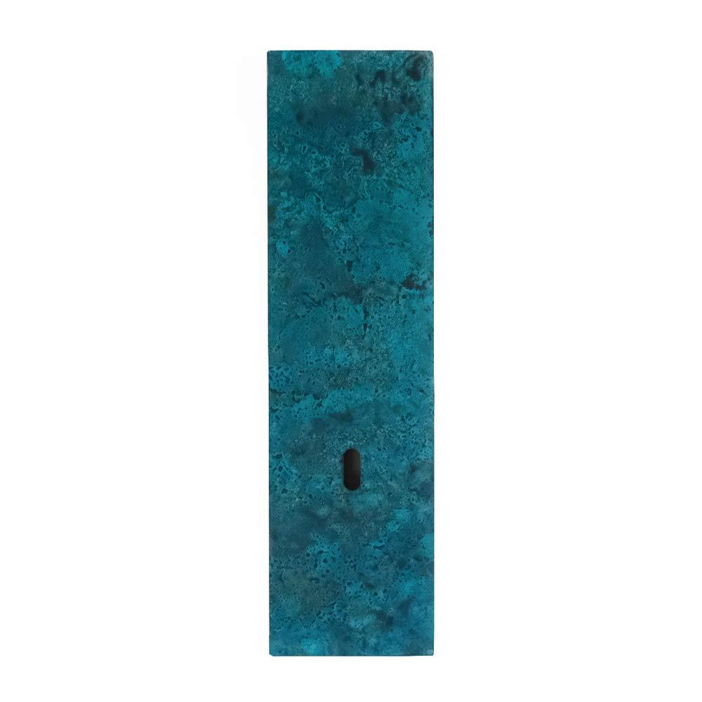 花瓶一輪挿し on the wall mini 斑紋青銅色 高岡銅器 花器フラワーベース B01N4DUU3Y