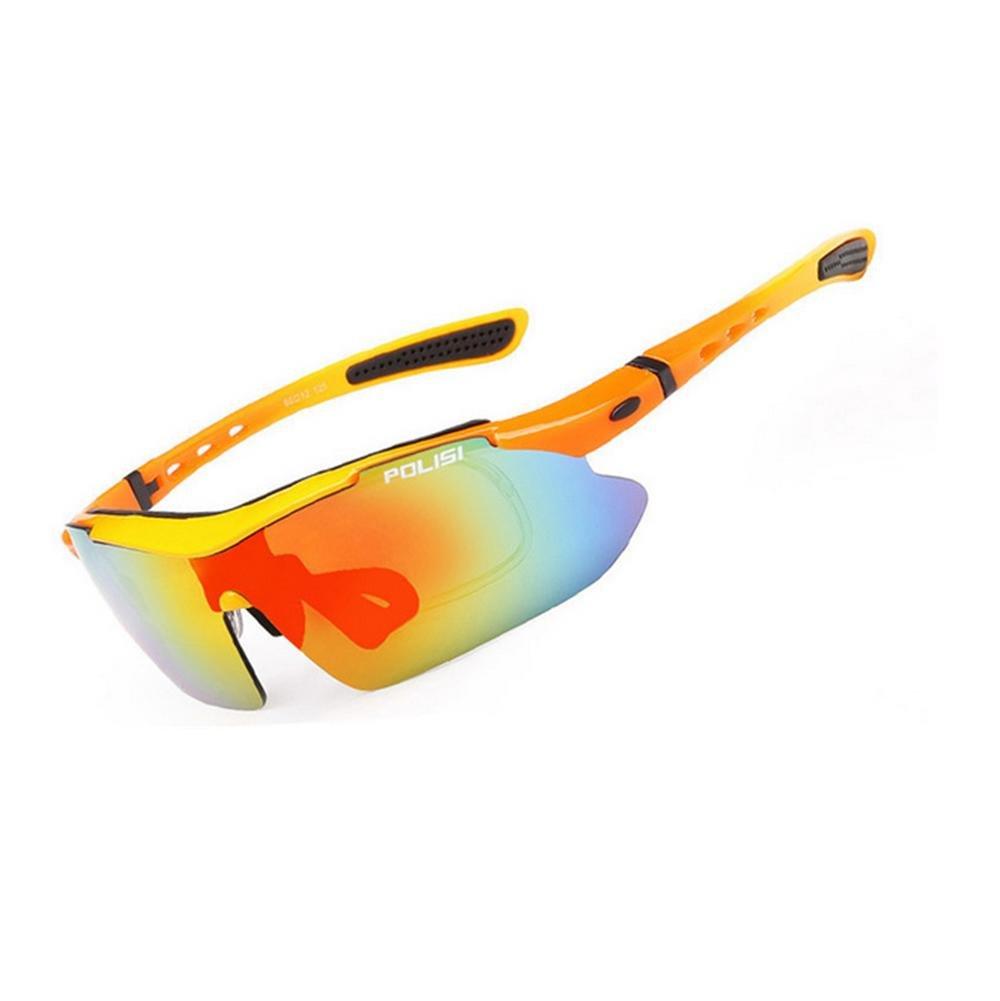 DZW Outdoor Angeln Brille polarisierte Sonnenbrille Bergsteigen fahren Sport Reiten Brille für Film Brille mit Myopie ausgestattet werden können , 3