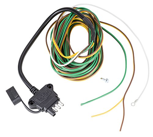 Reese Towpower 8550811 Professional 4-Way Y-Wishbone Trailer End Connector with 20' HD Cable