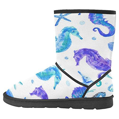 Snow Snow Da Donna Interesse Design Unico Comfort Invernale Stivali Mondo Subacqueo Multi 1
