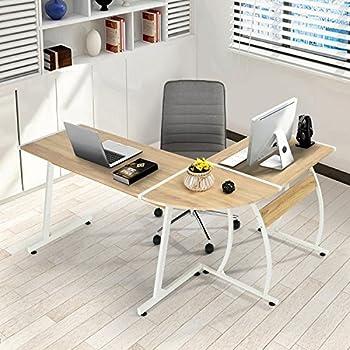 office desk l. Delighful Office GreenForest Office Desk LShape Corner Computer PC Table Workstation  3Piece Home With L R