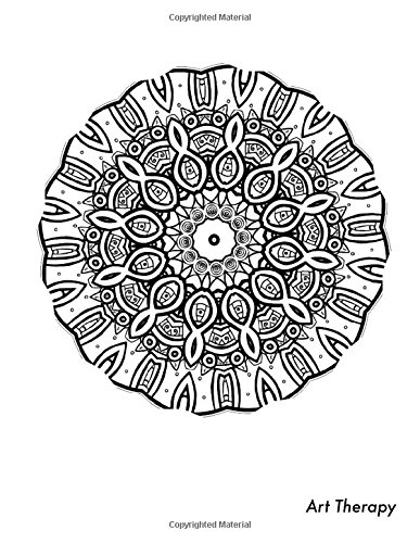 Download Art Therapy Sketchbook: Sketchbook with therapeutic adult coloring mandala design on cover. Perfect for sketching, drawing, writing, journaling, ... your mind and mood. (Mandalas) (Volume 26) pdf epub