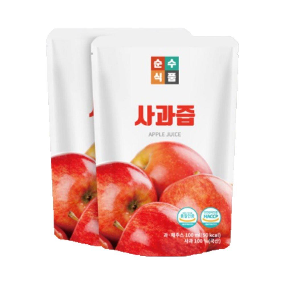 [Pure Food] Apple Health Juice 30 Pack / Gift/Health Food/Pack/Bundle/Health Drink/Diet foods/Parents Gift/Vegetable
