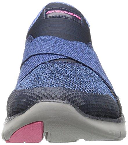 New Ginnastica Blu Nvy 2 da Donna Scarpe Flex 0 Basse Appeal Image Skechers 8ZPgqIgx