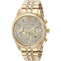 Michael Kors Men's Quartz Stainless Steel Casual Watch, Color:Gold-Toned (Model: MK8579)