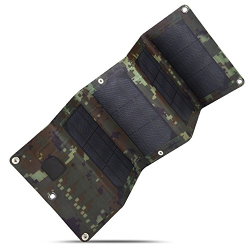 olar Cell Charger,Foldable Monocrystalline Mobile Solar Panel For Charging Smartphone,Power Banks (Camouflage) ()
