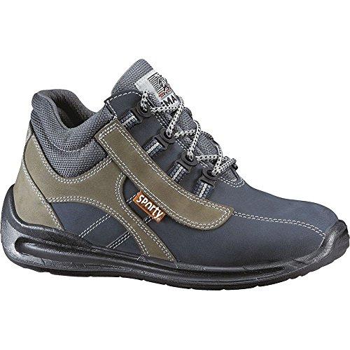 """Lemaitre 123035Tamaño 35S1""""Trekker–Zapatos de seguridad Multicolor"""