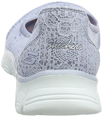 Light Blu Donna Ez Flex Chiusa Beautify Blue Skechers 3 Punta 0 Ballerine zvwx4q8