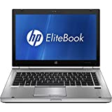 HP 14 Inch Elitebook 8470P Laptop for Business (Intel Core i5 up to 3.3GHz, 8GB, 160GB SSD, DVD, USB 3.0, Windows 7/10 Pro) (Certified Refurbished)