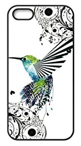 Hummingbird iPhone 5,5s Durable Back Case Covers by lolosakes